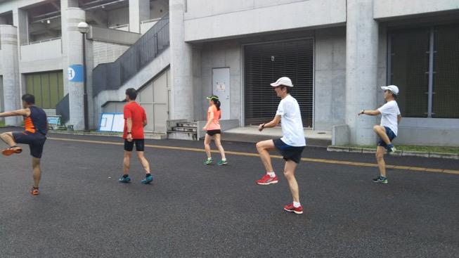 [さがみはらクロカン部]8月11日動的ストレッチ練習会!