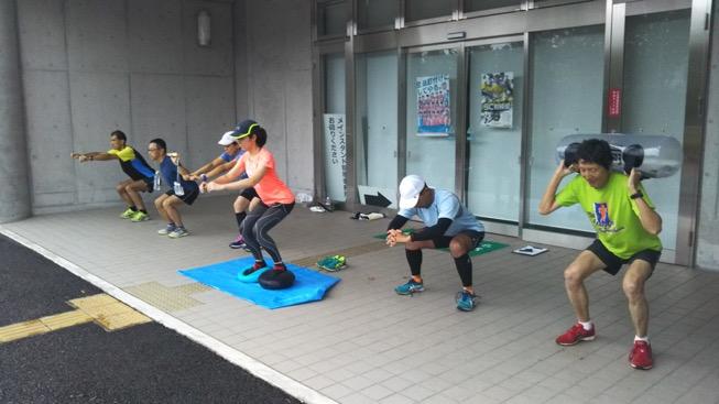 [さがみはらクロカン部]雨上がりの体幹トレーニング